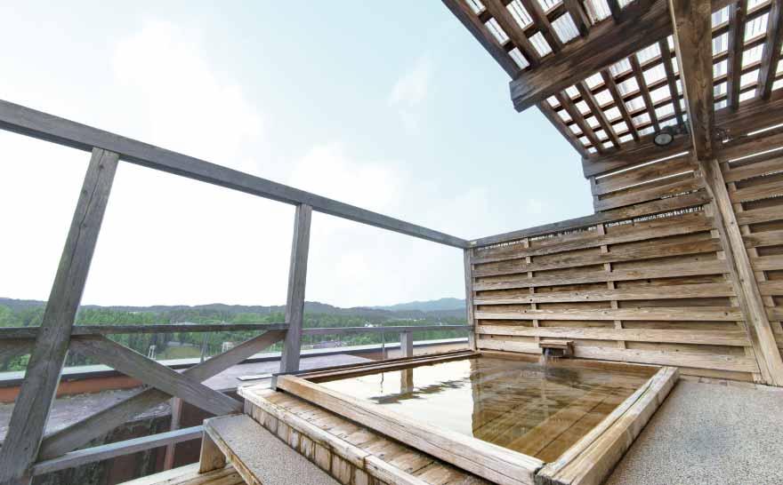 ホテルの風景 露天風呂