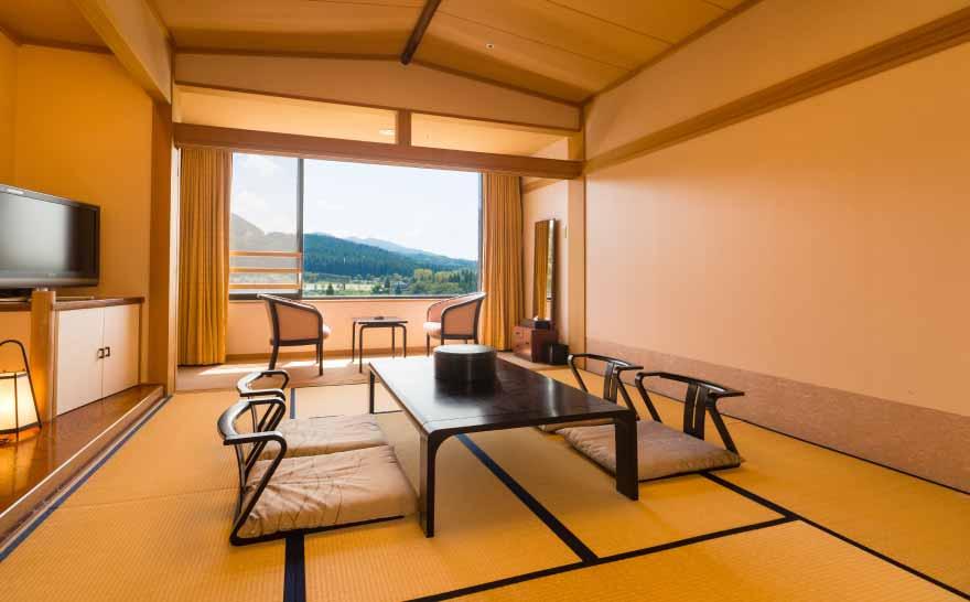 ホテルの風景 和室