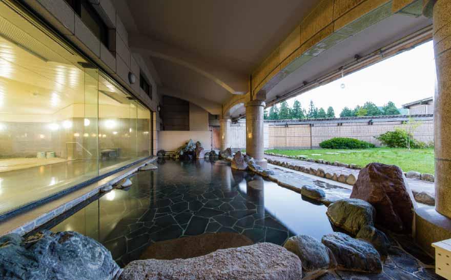 ホテルの風景 大浴場