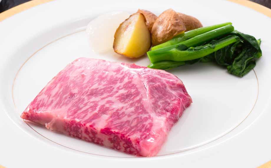 洋食コース 新潟県産 村上牛ステーキ