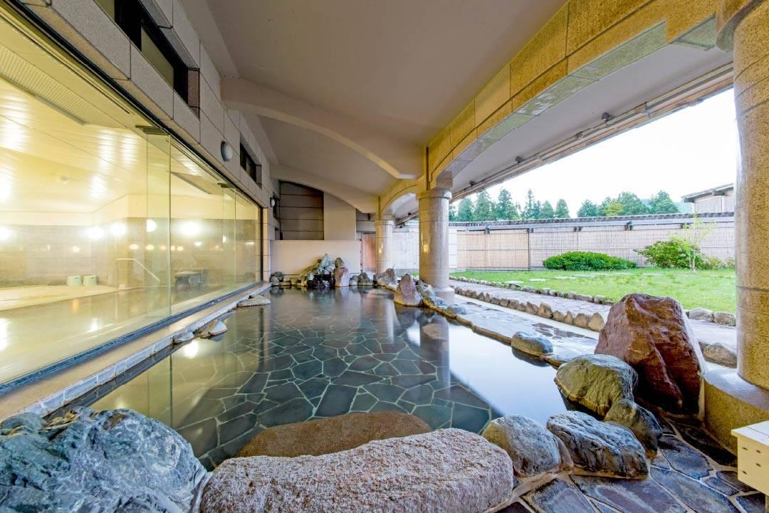 露天大浴場 空庭の湯